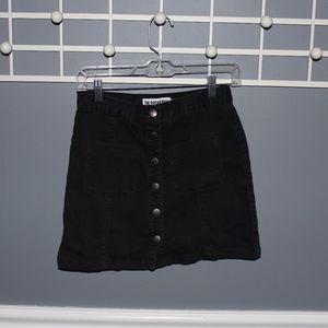 Dresses & Skirts - Button Up Black Skirt